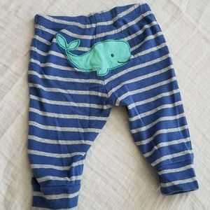 Carter's Matching Sets - Boys Whale Outfit- 3 Months